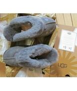 UGG Slipper Shoes Coquette Leopard Fits Women Size 6 - 6.5 Grey - $138.59