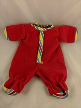 """Cabbage Patch Kids Doll Red Outfit Pajamas 12""""  Stuffed Animal - $13.60"""