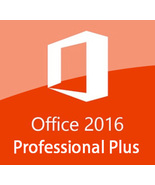 Microsoft Office 2016 Pro Plus Key & Download 32/64 Bit - $10.90