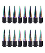 16PC NEO CHROME EXTENDED SPIKES C 112MM 12X1.5 FORGED STEEL LUG NUTS HON... - $102.75