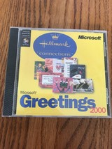Microsoft Greetings 2000 Hallmark Connections Ships N 24h - $12.85