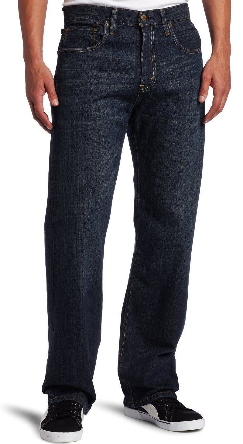 NEW LEVI'S STRAUSS 569 MEN'S ORIGINAL LOOSE FIT STRAIGHT LEG JEANS 569-0041