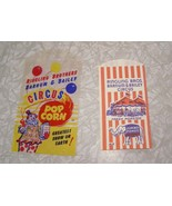 Ringling Brothers Barnum & Bailey Circus Popcorn Bags Lot Vintage - $12.99