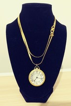 Swiss Made CustomTime Wind Up Necklace Pendant Watch - $19.34