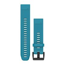 Garmin 010-12496-04 Fenix 5 Quick fit 22 Watch Band - Cirrus Blue Silicone - $49.95