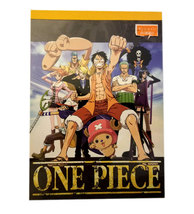 One Piece Anime Showa Note 80 Page Notepad with Yellow Spine - $4.88