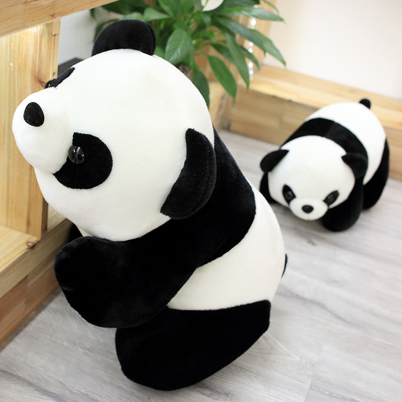 """Panda doll plush toy cuddle giant doll simulation doll Cuddle Pillow girl""""s Day  image 6"""