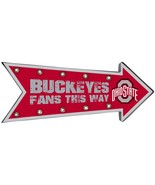 NCAA Ohio State Buckeyes Sign, Team Colors, One Size [Free Shipping]**Fr... - $41.69