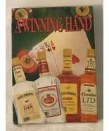 A Winning Hand Playing Cards Game Deck Sealed Poker Vodka Gin Whiskey Li... - $7.99