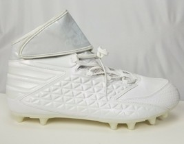 Adidas Men's 17 High Football Cleats Freak White Ironskin Athletic Sport... - $39.50