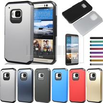 Slim Hybrid Shockproof Armor Case Hard Protective Cover +Film +Pen For HTC One M - $10.53+