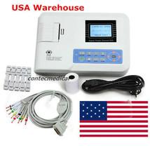 FDA ECG100G Digital single channel 12-lead ECG/EKG machine Electrocardio... - $197.01