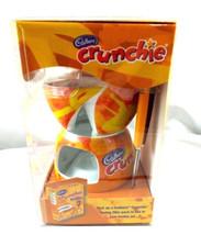 Cadbury Crunchie Fondue Pot Ceramic Twin Fondue Set Tea Light Chocolate - $27.99