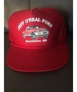 trucker hat baseball Cap Jeff ONeal Ford  KS Mesh vintage SnapBack Retro - $39.99