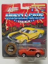 Johnny Lightning Muscle Cars USA 1969 Oldsmobile 442 Orange Series 8 MOC - $6.81