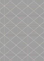 Mia Area Rug 5x7 Design 88257 Charcoal Grey Gray Silver Trellis Modern Abstract - $69.00