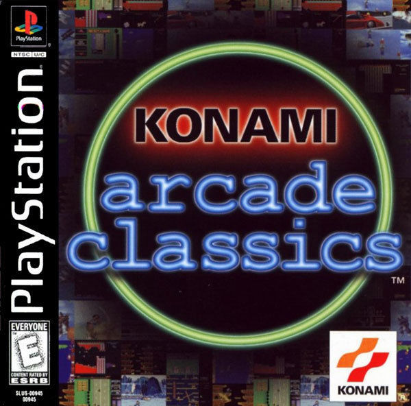 Konami Arcade Classics PS1 Great Condition Fast Shipping