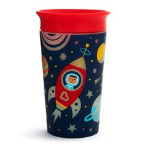 Munchkin Miracle 360 Degree Glow in The Dark Sippy Cup,9 Oz, Astronaut,F... - $15.50