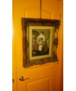 Large VINT. MUSEUM REPLICA FROM OLD HOLLYWOOD MOVIE SET ARTIST UNKWN. 25... - $44.55