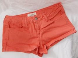 Forever 21 Shorts Stretch Coral Salmon Denim 5 Pockets size 28 - $11.85