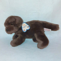 "AURORA FLOPSIES TRUFFLES # 06650 BROWN LAB PUPPY DOG PLUSH BEAN BAG TOY 12"" - $14.85"