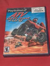 Atv Offroad Fury Sony PS2 2001 Videojuego con / Instrucciones - $9.39