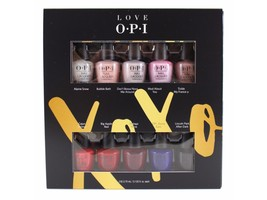 OPI Nail Lacquer Holiday 2017- XOXO Collection HRJ23- Mini 10 Pack,(10 X... - $10.99