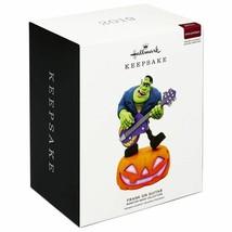 Hallmark Keepsake 2019 Monster Mash Frank on Guitar Halloween Ornament N... - $37.00