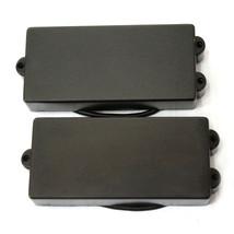 One Set Artec Soap Bar 6 String Bass Pickup Black MMDC6 - $33.65