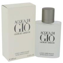 Giorgio Armani Acqua Di Gio 3.4 Oz Aftershave Lotion image 1