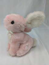 "Dakin Pink Rabbit Plush 6"" 1981 Stuffed Animal Toy - $19.95"
