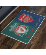 House Divided Arsenal Liverpool FC Welcome Mat Man Cave Doormat Custom Rug - $29.70