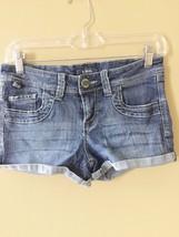Women's STS BLUE Denim Blue Jean Short Shorts Size 26  - $9.49