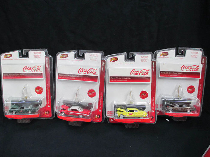 Primary image for Coca-Cola Set of 4 Johnny Lightning Limited Editions Winter 2008