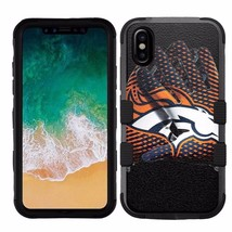 for Apple iPhone X (Ten) Armor Impact Hybrid Cover Case Denver Broncos #G - €16,01 EUR