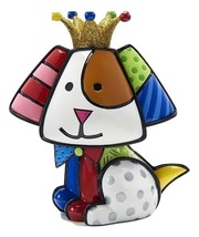 Romero Britto 10th Anniversary Special Edition Royal Dog Design Figurine