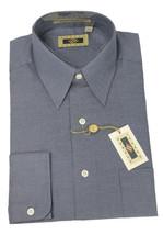 15 34/35 NWT Joseph Abboud Gray Pin Dot Weave Button Down Dress Shirt CH... - $80.05 CAD