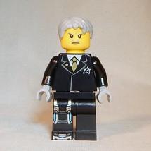 LEGO Ultra Agents Solomon Blaze Minifigure 70172 NEW Black Suit Genuine - $10.43