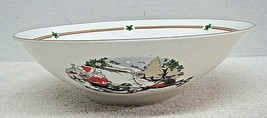 """Royal Doulton Sleighride 9""""  Round Vegetable Bowl Discontinued 1990 NICE... - $94.05"""