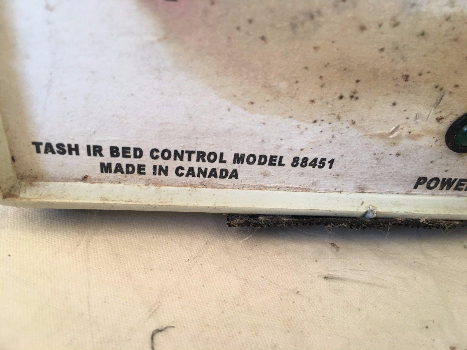 Tash IR Bed Control Model 88451
