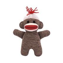 Schylling Sock Monkey Baby - Brown