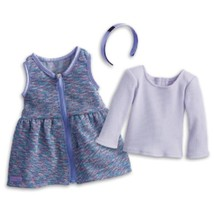 American Girl Purple Sparkle Outfit Fun Casual ... - $32.66
