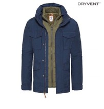 TIMBERLAND MEN'S SNOWDON PEAK 3-IN-1 M65 WATERPROOF JACKET A1NXE433 SIZE:M - $135.00