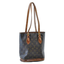 LOUIS VUITTON Monogram Bucket PM Shoulder Bag M42238 LV Auth ar1297 - $140.00