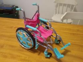 vintage barbie wheelchair - $12.86