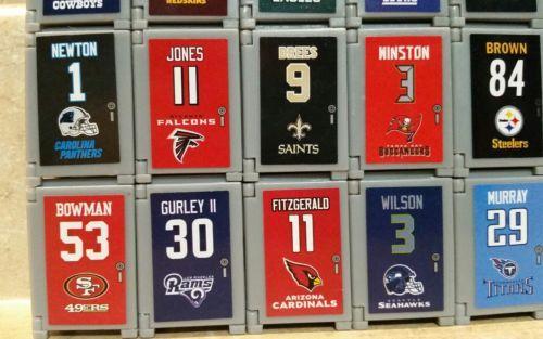 2017 NFL FOOTBALL TEENYMATES LOCKERS!!! - PICK YOUR FOOTBALL TEAM LOCKER!!! image 4