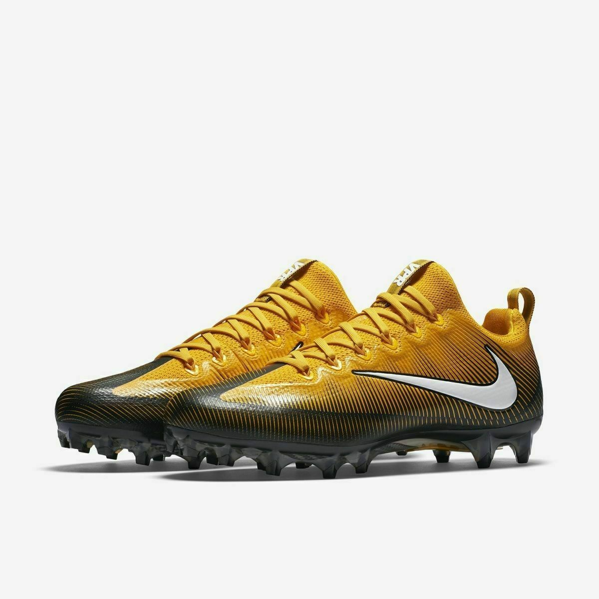 Primary image for Nike Vapor Untouchable Pro VPR Football Cleats 839924-025 Yellow/Black Size 14