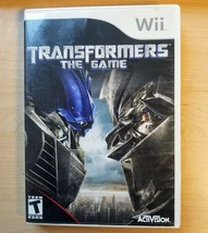 Transformers: The Game (Nintendo Wii, 2007) Complete Tested & Working - $3.95