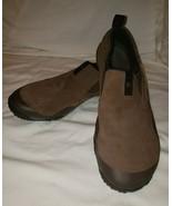 Merrrll slant Grove bracken mens shoes Brown suede leather 10.5 Barefoot... - $27.01