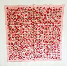 Louis Vuitton Lv Monogram Scarf Scarves Women Pink Silk 100% Auth New L/d Rare - $586.45